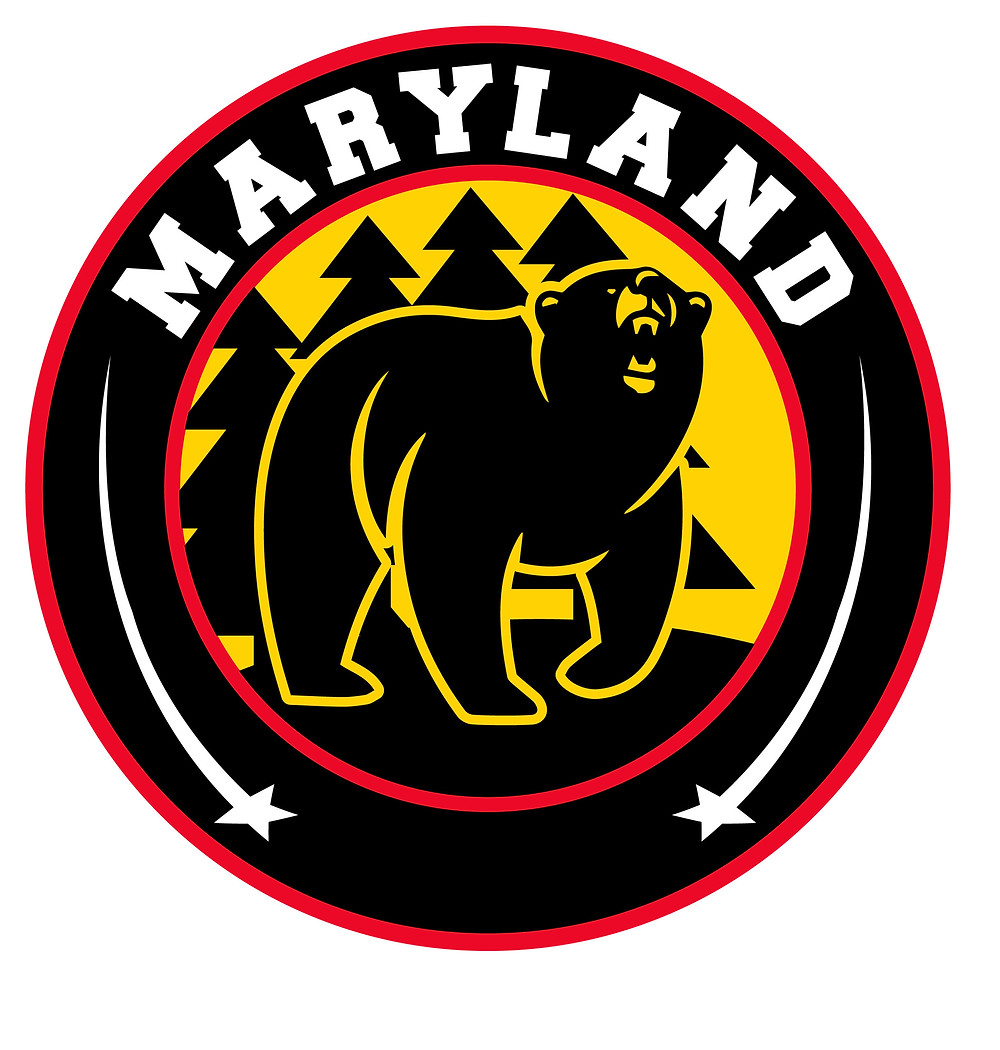 Maryland Black Bears logo of the NAHL