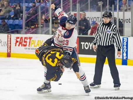 Tomahawks Sweep Black Bears, Again, in Heated Weekend Series