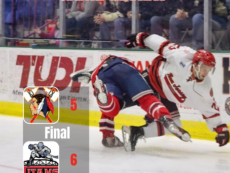 Tomahawks Lose Back-and-Forth Battle