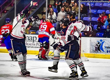Tomahawks Pickup 3/4 Points During Home Opening Weekend - Plus Goalie Traded
