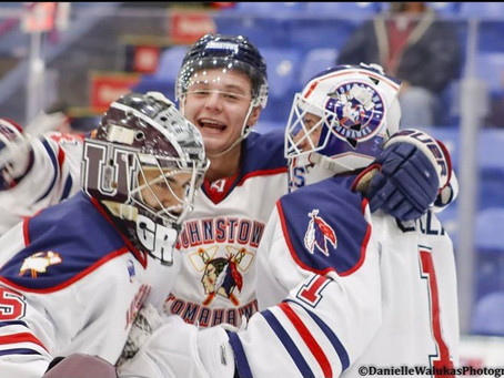Tomahawks East Division Regular Season Champs After Split With Nordiques