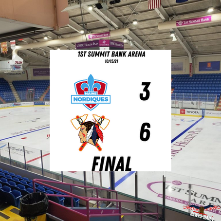 Post-Game Report #10 - Tomahawks Take Game One Over Maine, 6-3