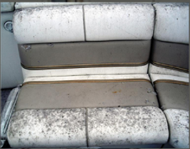 Mould on a boat setting