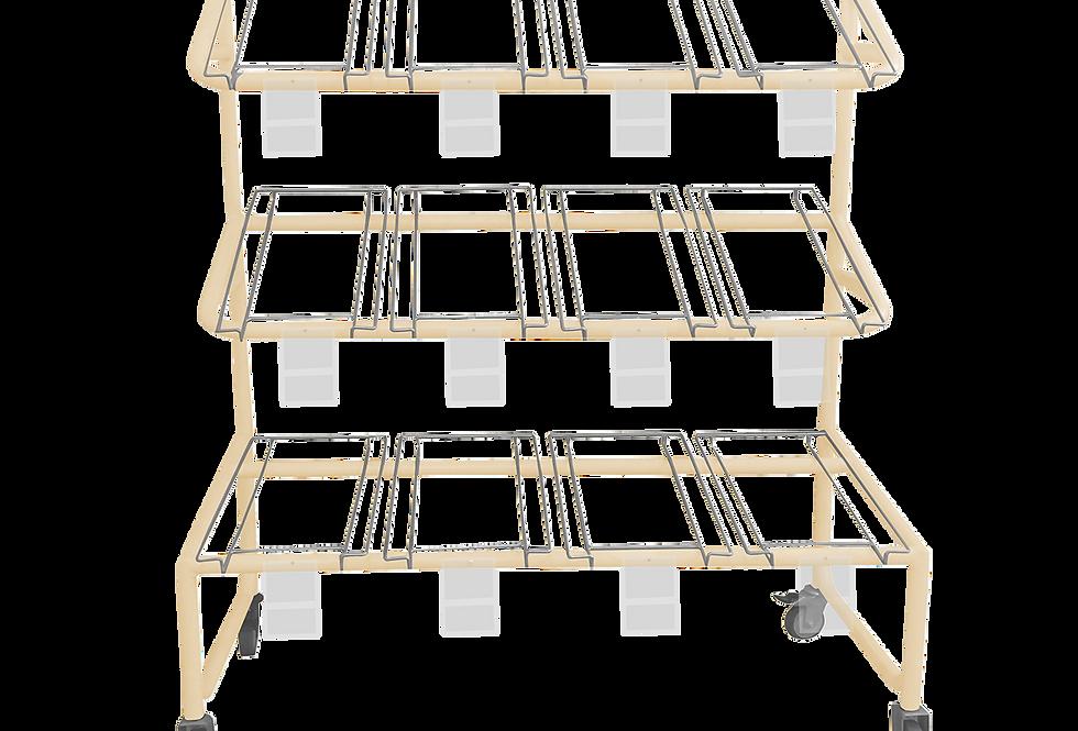 Rack para caixetas RPC-01