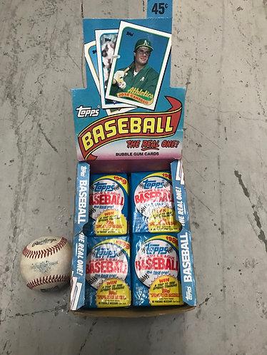 Topps Baseball Card Pack