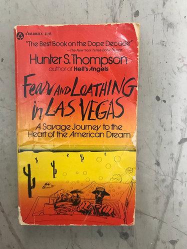 Fear & Loathing in Las Vegas Book