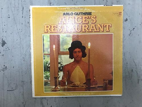 Arlo Guthrie Alice' Restaurant Record