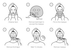 SheetMasque instructions