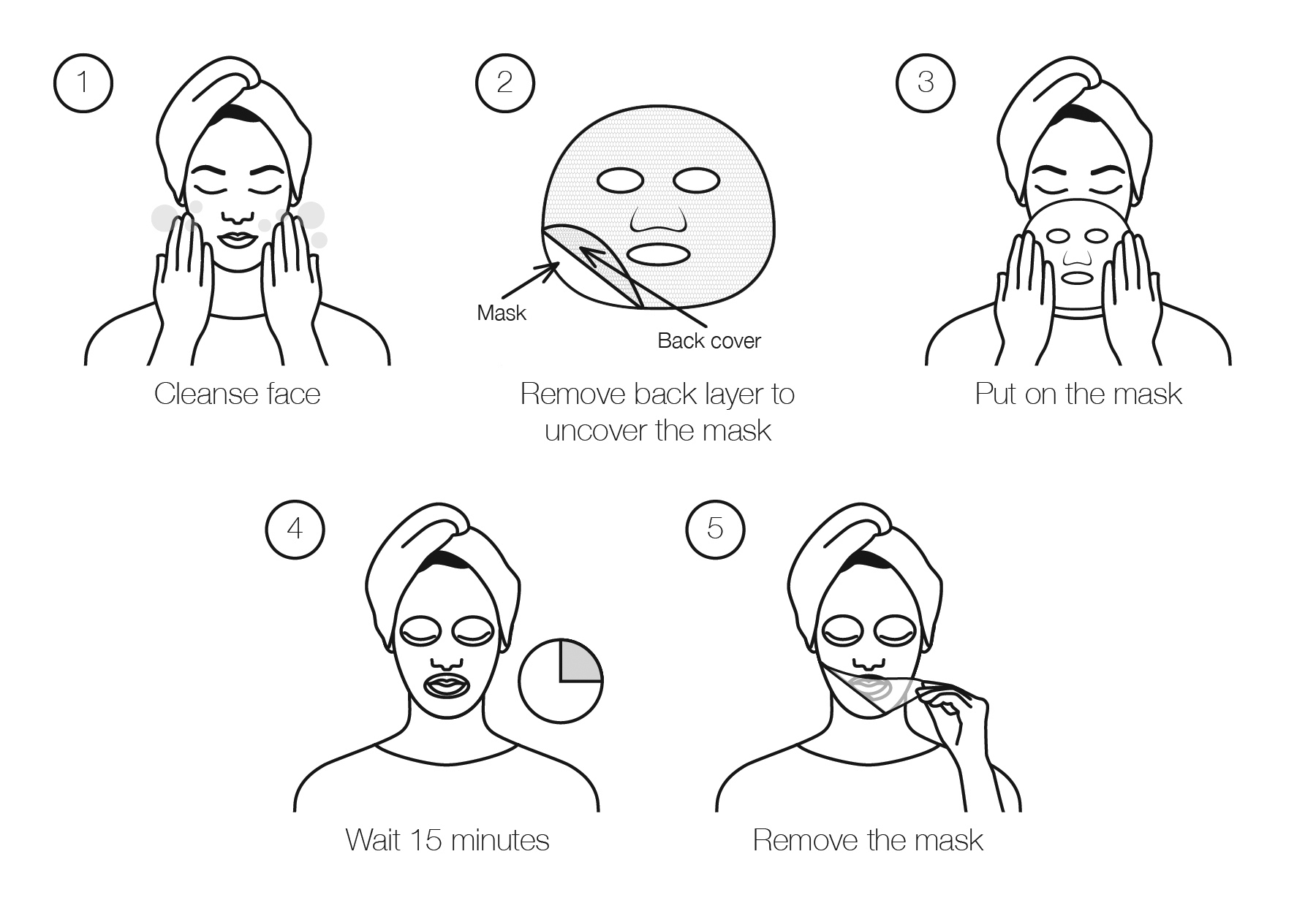 SheetMasque instructions