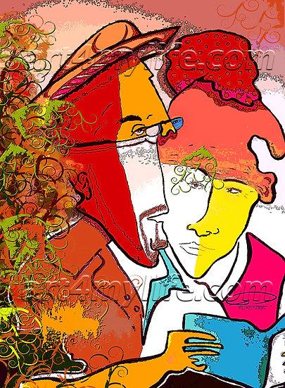 CASI UNA VIDA JUNTOS. Multicolor. Efraín Ricardo Uribe Moya. art4