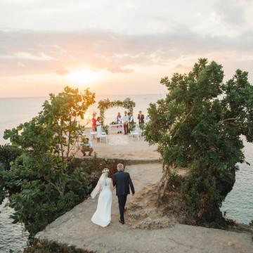 Cliff Top Wedding