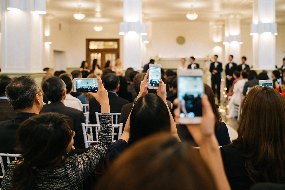 reasons to go unplugged at wedding
