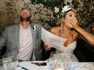 The Do's and Don't of a wedding speech