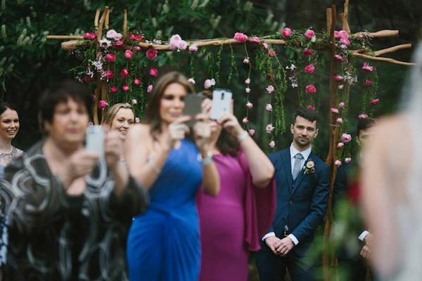phones at ceremony