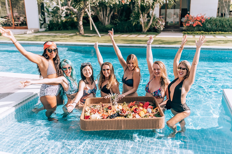 Girls Weekend Away in Bali