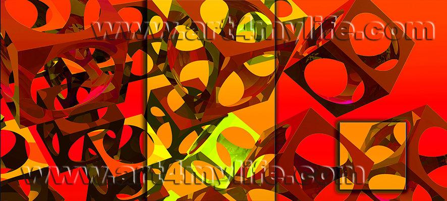 DREAMS 036 Rojo EFRAIN RICARDO URIBE MOYA art4mylife