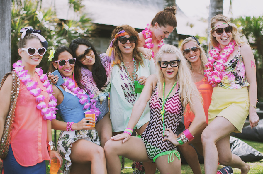 Party weekend in Bali