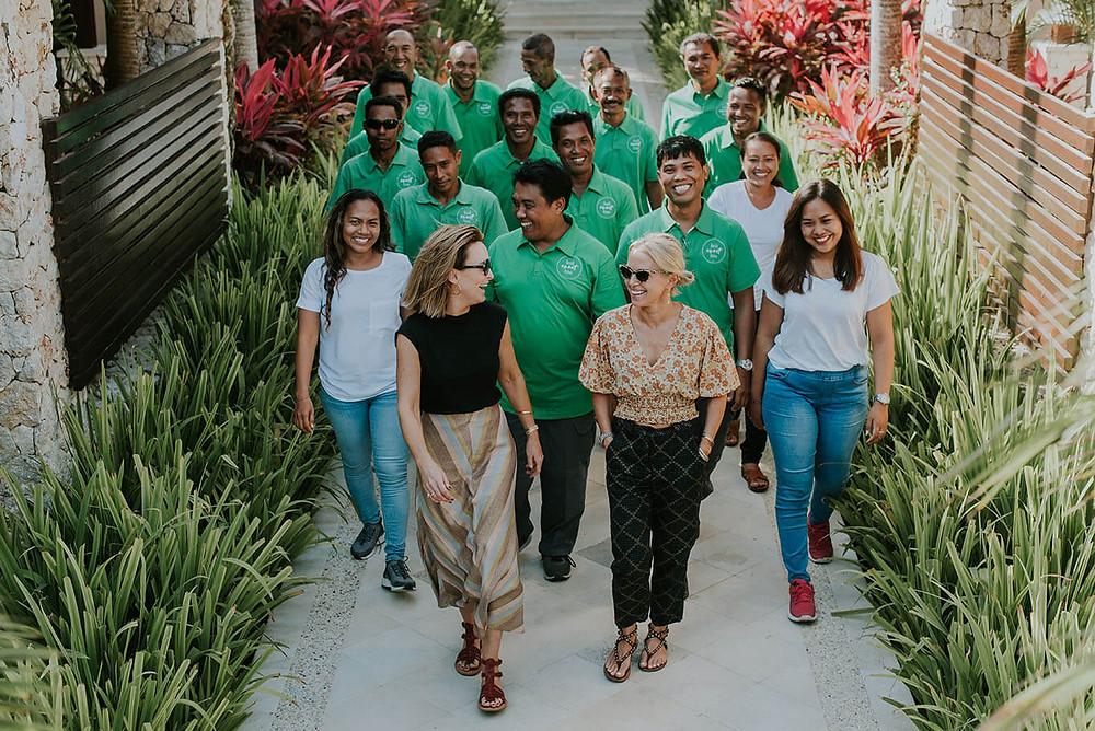 Vanessa & Sarah - Bali Event Hire Team