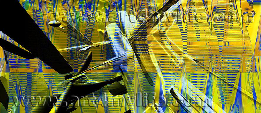 Dreams 033 Amarillo Verde Ricardo Uribe Moya