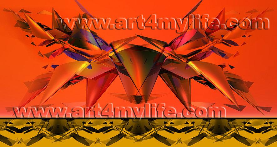Dreams 030 A Rojo Amarillo Ricardo Uribe Moya