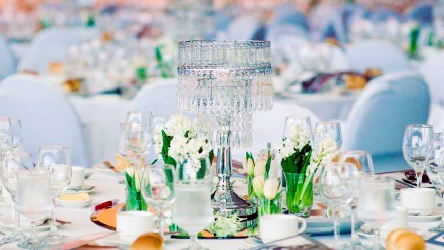Gala Table Decorations