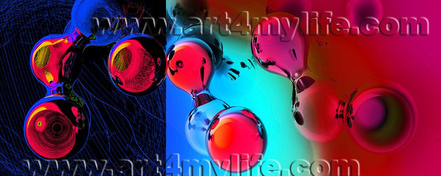 Dreams 023 Agua marina Rojo  Ricardo Uribe