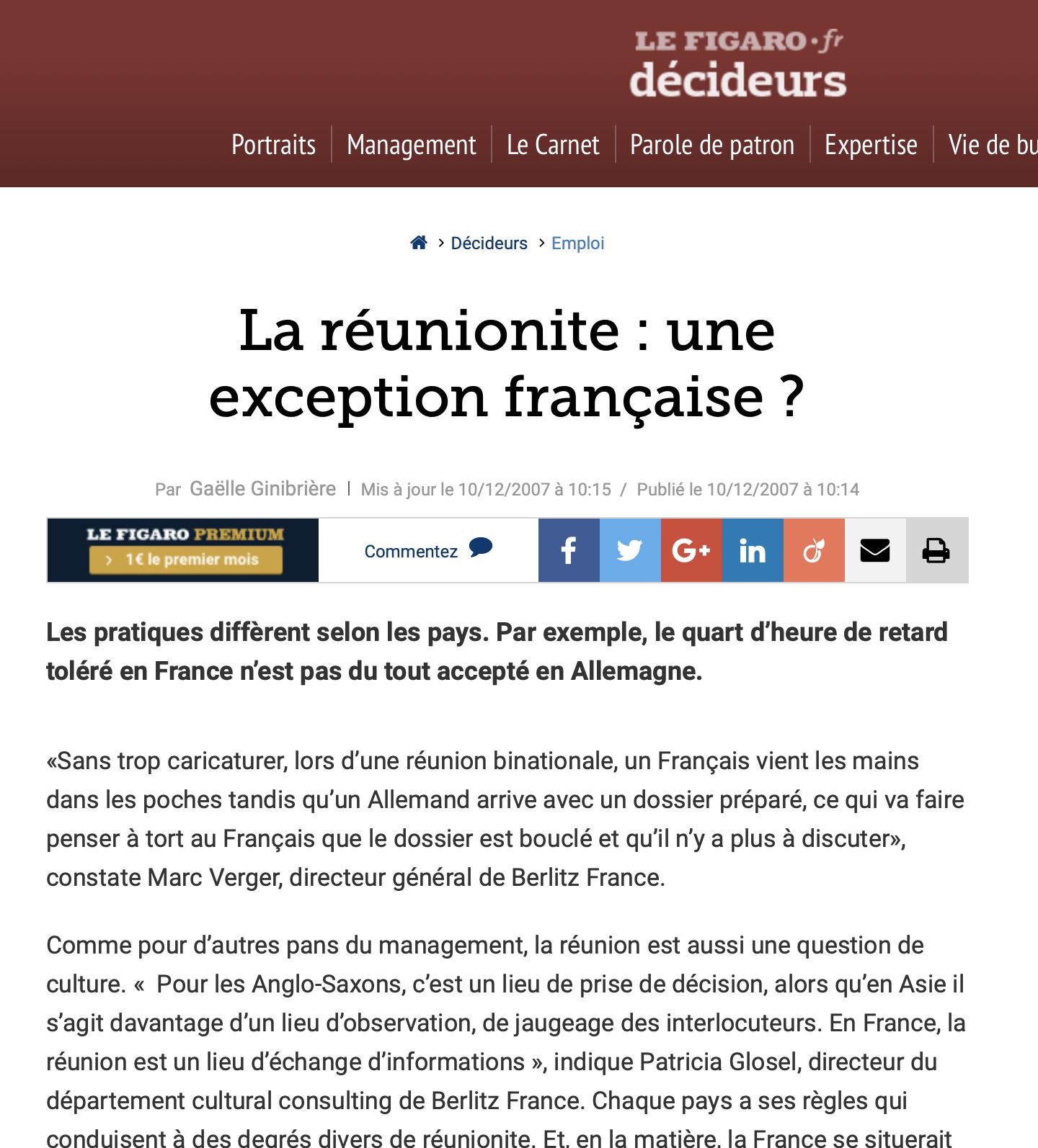 Le Figaro - 2007