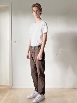 New face male model Albert Werner