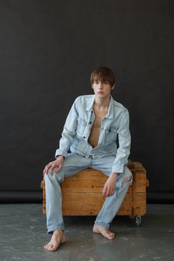 new face male model Egor Kretov