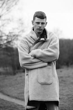 Ginger Male Model Daniil Kalinin