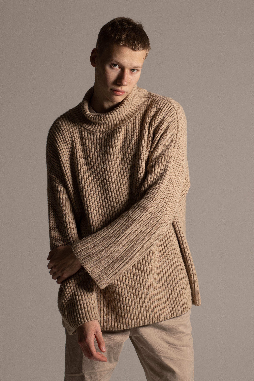 Fashion Editorial Male Model Pavel Nirsha