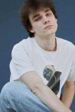Russian new face male model Kirill Kuznetsov