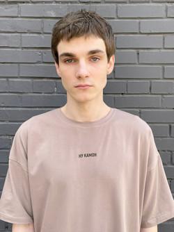 Russian model polaroids Kirill Kuznetsov