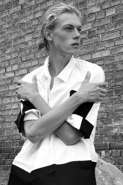 New Face male model Lucas Nikolaisen
