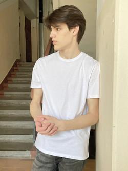 New Face Vlad Trubachenko model polaroids