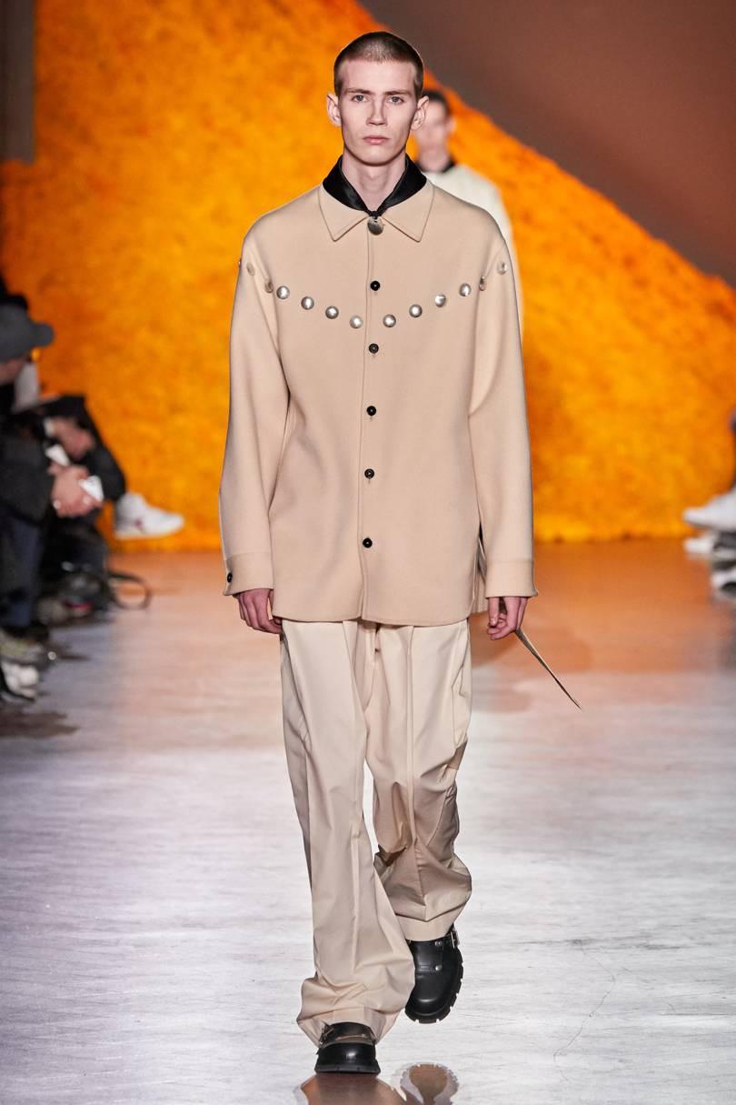 Alexander Gudmundsson for Jil Sander FW20 Milan Fashion Week