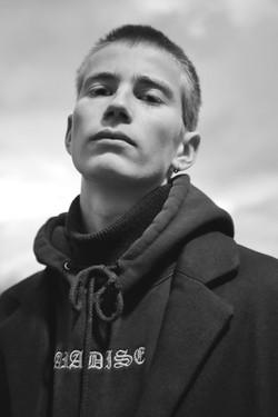 Alexander Gudmundsson portrait photographed by Jovei Blink