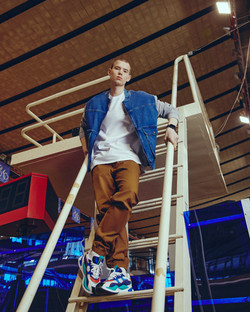 skinhead male model Kid Bykovskii