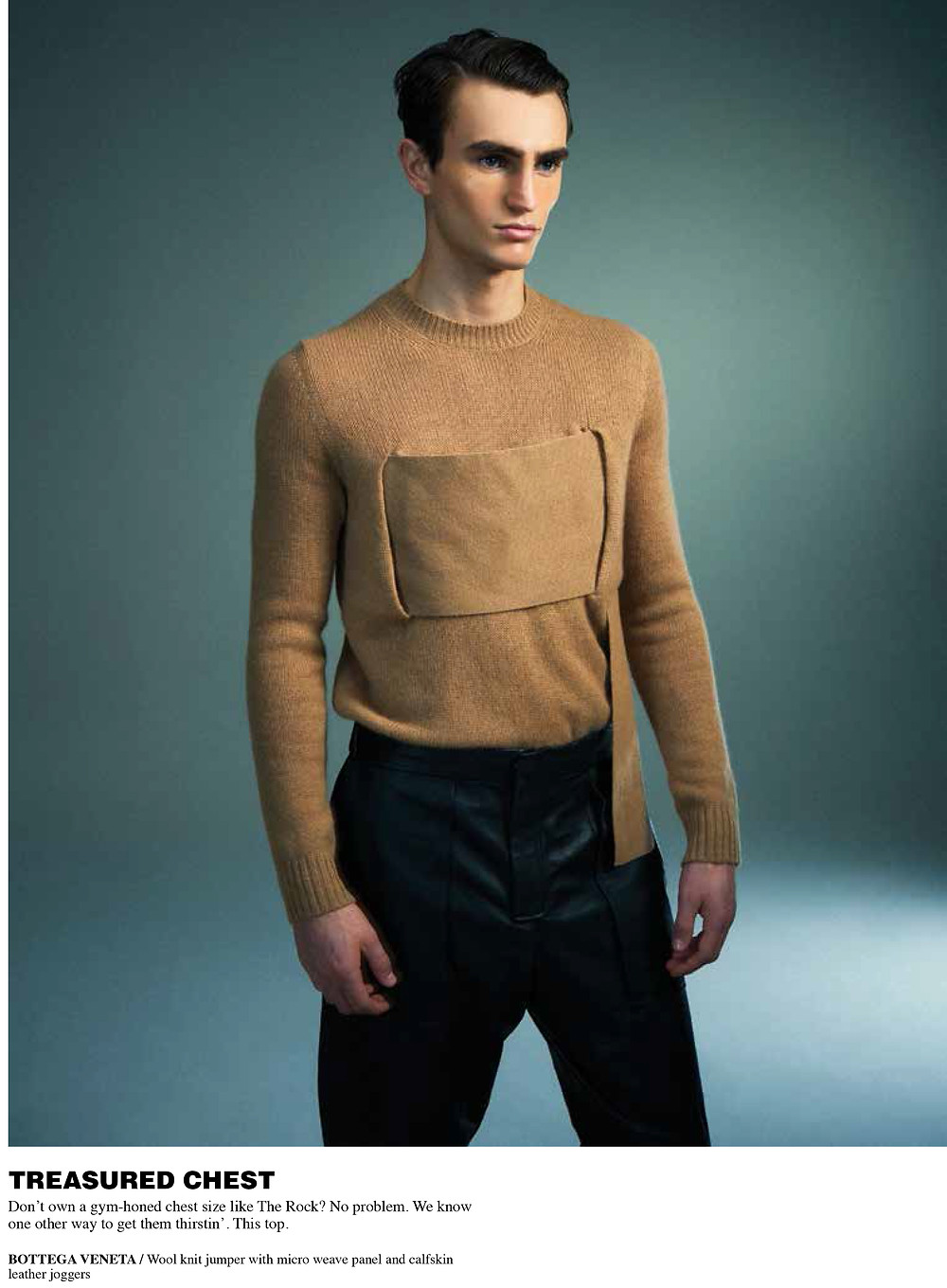 Bottega Veneta Mens Editorial