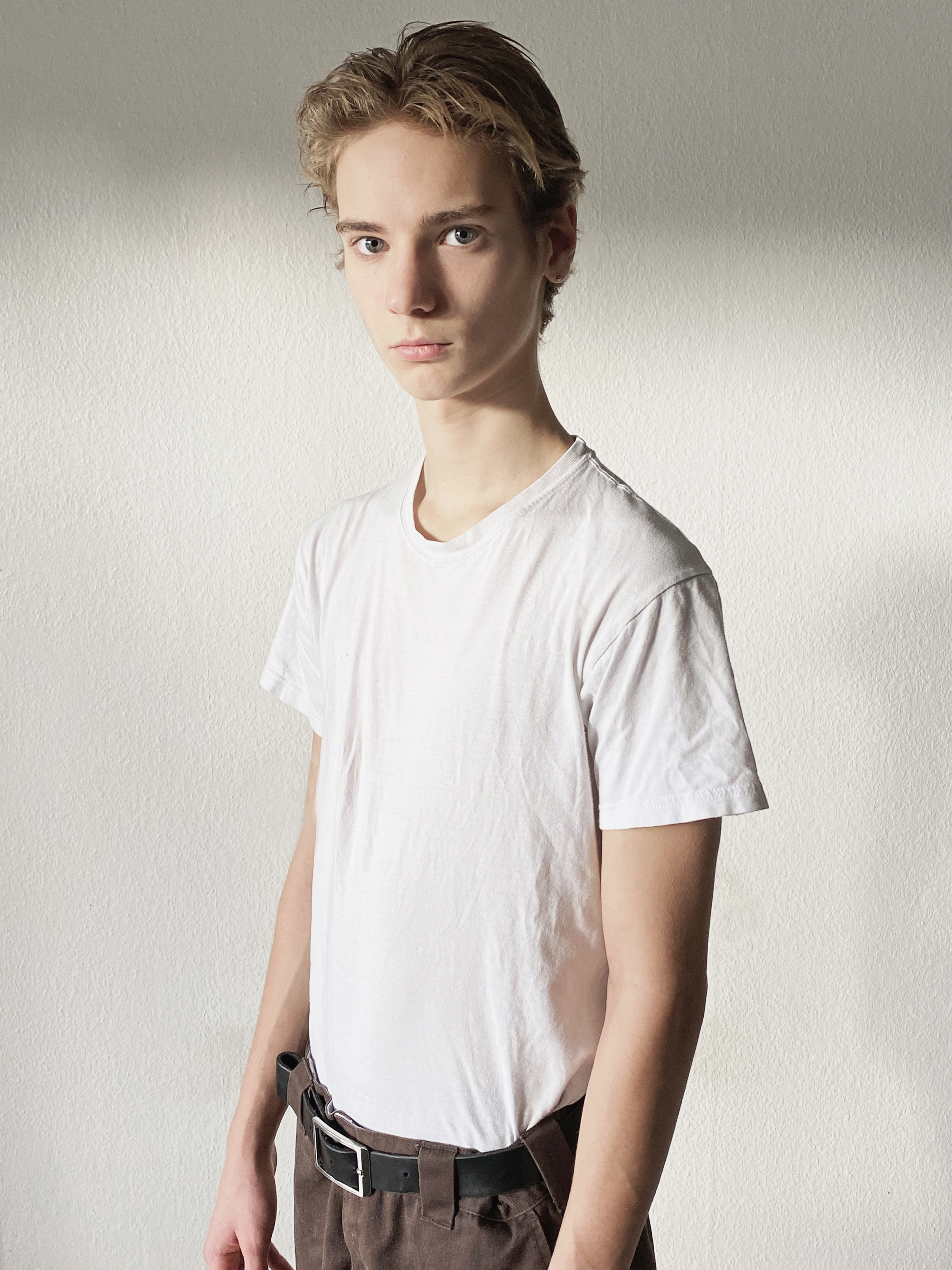 New face male model Albert Werner