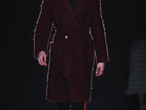 RAD new face SERGE KUTUKOV for Christian Pellizzari F/W 2016 Milan Fashion Week