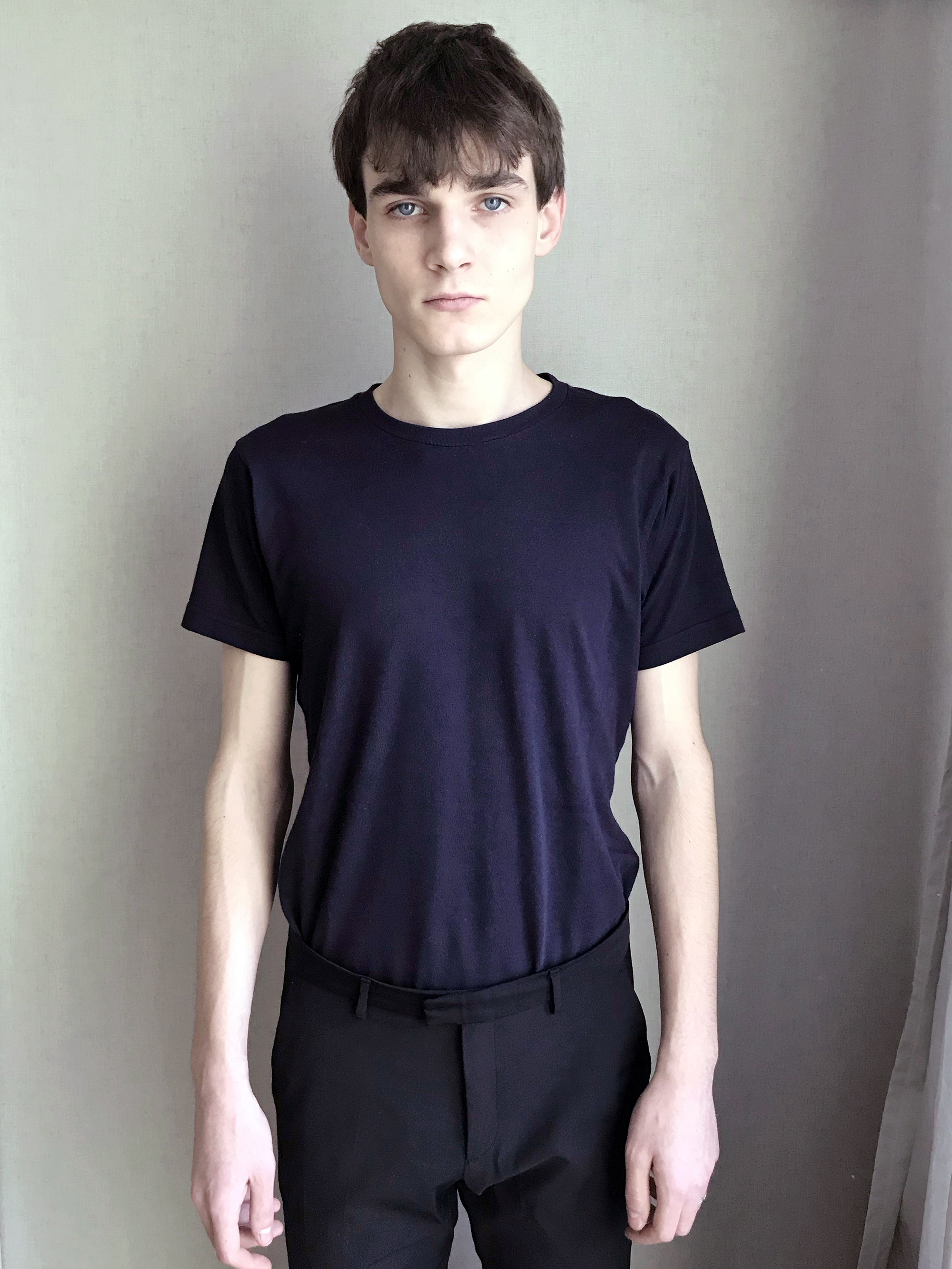 New Face Russian Male Model Kirill Kuznetsov