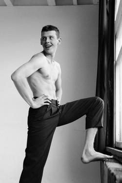 Male Model Daniil Kalinin