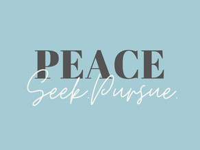 How to Keep Peace in This Season