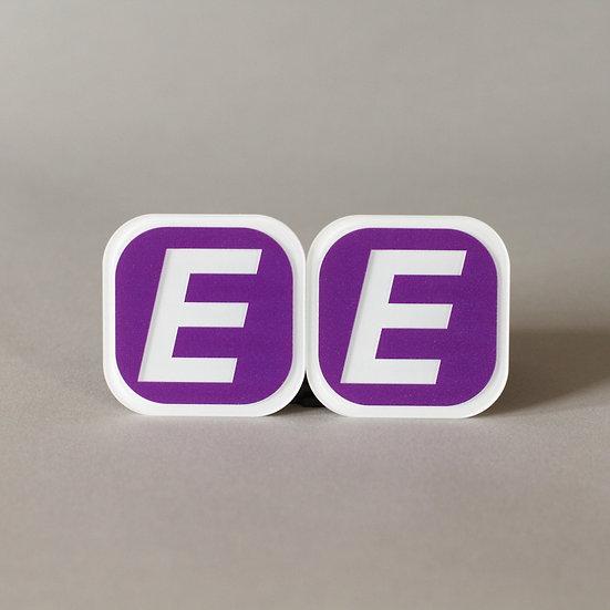 Camera Letter Tag E