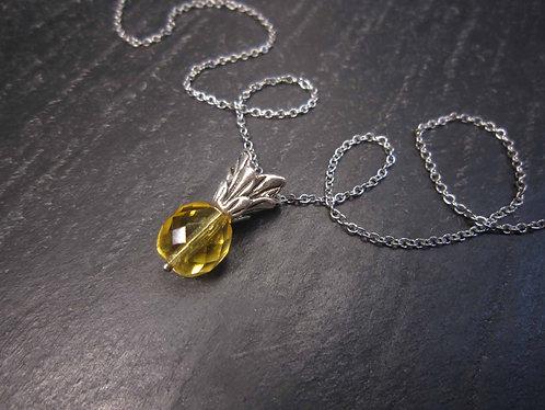 Collier original perles façon ananas - 2711