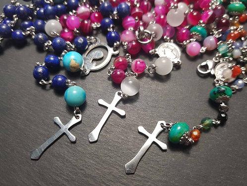 Chapelets bijoux couleur AU CHOIX - 3137
