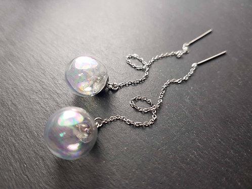 Boucles bulles longues chaînettes - 3163