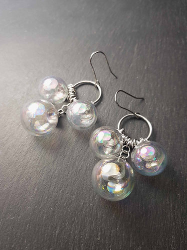 Boucles trois bulles - 3164