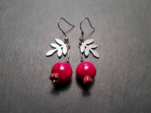 Boucles goyaviers & feuilles